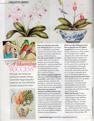 Garden & Home Artist Feature March 2013