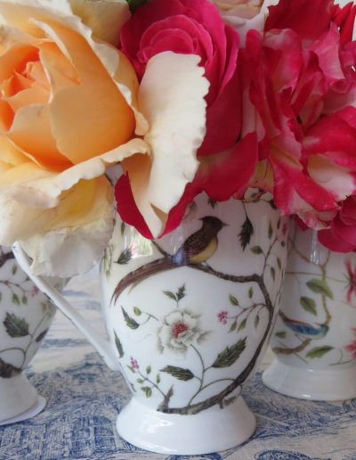 Chinoiserie floral mugs for Sainsbury's